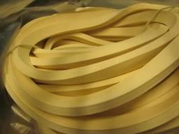 Шнур силиконовый квадратного сечения пористый