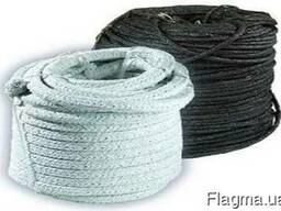 Шнур асбестовый (сухого и мокрого плетения)