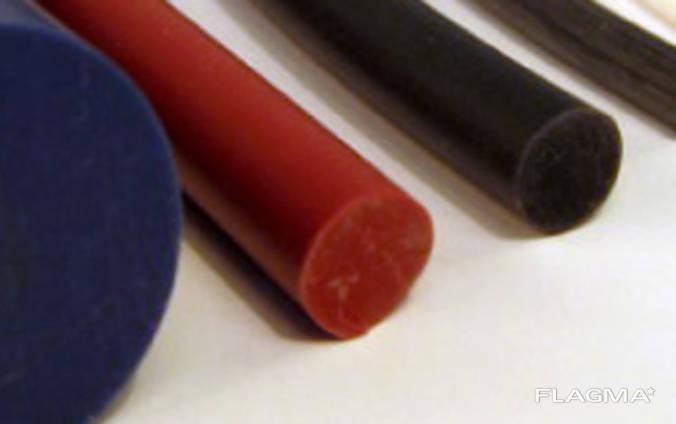 Шнуры силиконовые круглого сечения
