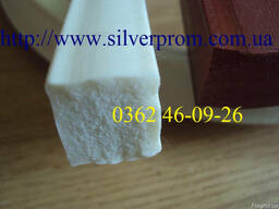 Шнуры пористые силиконовые