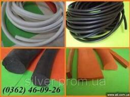 Шнуры резиновые пористые уплотняющие