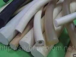 Шнуры силиконовые монолитные круглого сечения