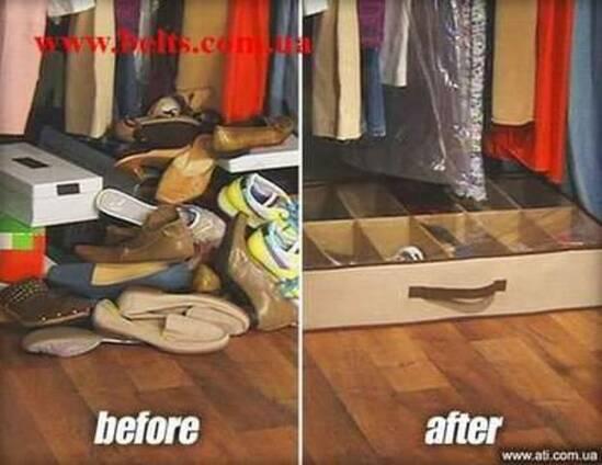 Shoes under органайзер для хранения обуви Шузандер