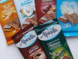 Шоколад Alpinella в ассортименте