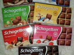 Шоколад Schogetten в ассортименте - 100 гр.