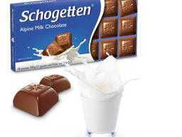 Шоколад Шогеттен Alpine Milk молочный с кусочками лесного. ..