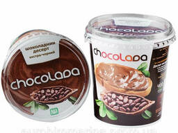 Шоколадный КРЕМ Экстрачёрный Chocolada 400 Г