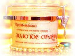 Шоконат крем-маска ОбЛако золотое для любого типа кожи 500г.