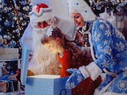 Шоу мыльных пузырей, аниматоры, Дед Мороз Снегурочка!