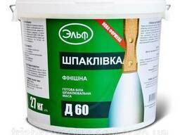 Шпаклевка акриловая Эльф Д 60 17 кг