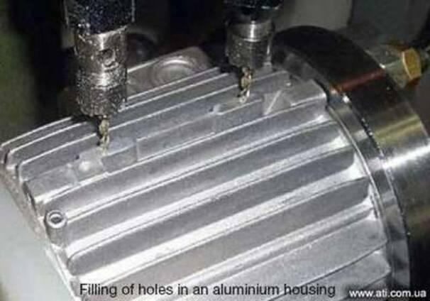 Шпаклевка для ремонта нержавеющей стали