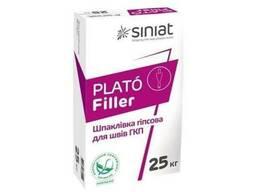 Шпаклевка гипсова для швов ГКП PLATO Filler 15 кг