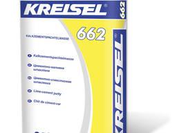 Шпаклевка Kreisel 662 известково-цементная белая 25 кг