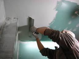 Шпаклевка Покраска Побелка Выравнивание стен потолков под Обои, под покраску