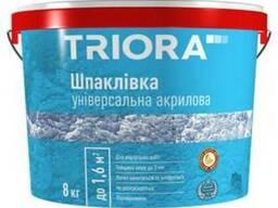 Шпатлёвка универсальная акриловая Triora 16,0 кг