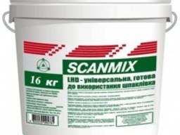 Шпаклёвка готовая к применению акриловая Scanmix LHD 16кг