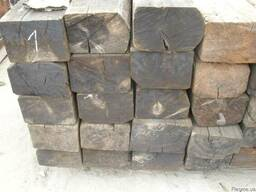 Шпала деревянная Б/У для повторной укладки.