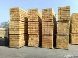 Шпала деревянная не пропитанная