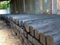 Шпала деревянная новая