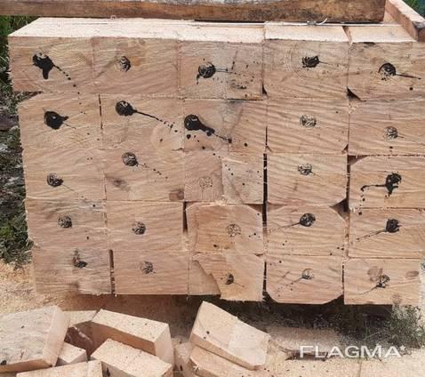 Шпалы деревянные I и II типа