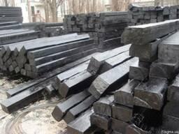 Шпалы пропитанные деревянные тип А1, тип А2