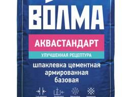 Шпатлевка фасадная белая Волма-Аквастандарт(22кг)в Донецке.