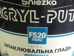 Шпатлевка Снежка Акрил-Путц готовая финишная шпаклевка 27кг