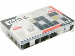 Шпинки для автосалоної обшивки Honda YATO, різні, 18 типорозмірів, 418 шт.
