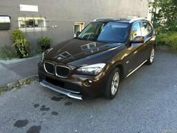 Шрот BMW БМВ X1 запчасти б/у фара крыло двери четверть