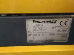 Штабелер электрический поводковый Jungheinrich EJC 16 1,6т 4 - фото 4