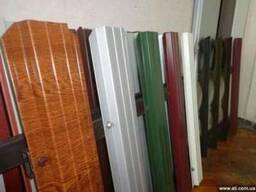 Штакетник металлический для забора. 32 цвета, ширина 115мм