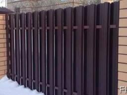 Штакетник заборный металлический
