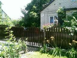 Штакетный металлический забор с двухст. порошковой покраской