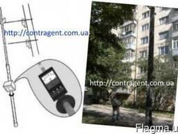 Штанга для измерений на воздушных линиях 0, 4кВ (6м) Е115Ш