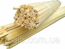 Штапик деревянный 1,2м (100шт)