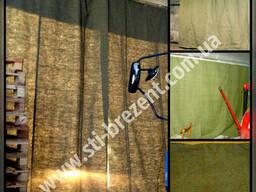3 рабрчих дня завеса брезентовая на ворота склад цех СТО