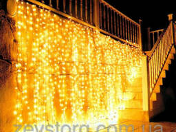Штора неоновая, 720 лампочек, 3, 5х1, 5 м