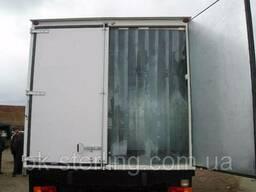 Шторки на изотермический фургон ( рефрижератор)