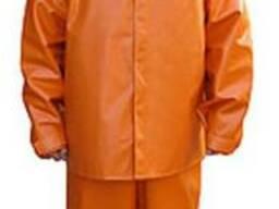 Штормовой костюм для моряков и рыбаков оранжевый
