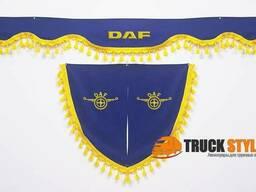Шторы Daf Даф (ламбрекен на лобовое стекло 2 уголка)