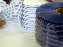 Шторы теплоизоляционные ПВХ-завесы с установкой.