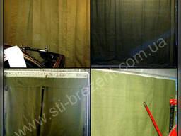 Шторы занавесы брезентовые в гараж автосервис