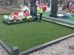 Искусственная трава для могил