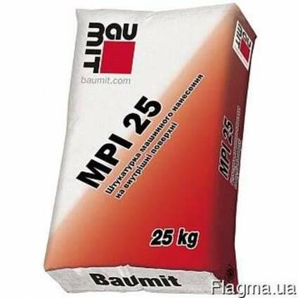 Штукатурка цементно-известковая Baumit MPI-25 д/внутр. работ