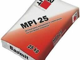 Штукатурка цементно-известковая Baumit MPI-25W (белая)
