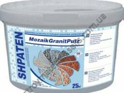 Штукатурка мозайка Шпатен Shpaten Mozaik Granitputz