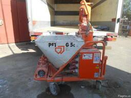 Штукатурна машина штукатурна станция PFT G-5c