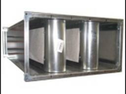 Шумоглушитель трубчатый, пластинчатый ГТК, ГТП, ГП от произв