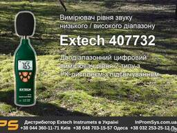 Шумомер с подсветкой дисплея Extech 407732