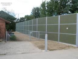 Шумозахисний паркан та огородження